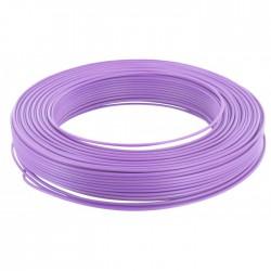 Câble d'installation H07V-U 1.5 mm² - 100 M - Violet - ELECTRALINE - Fils et câbles électriques - BR-675652