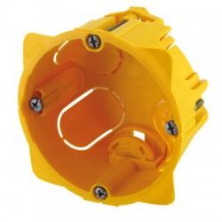 Boîte cloison sèche - 1 poste - Prof 40 mm - LEGRAND - Boites d'encastrement et dérivation - BR-438384