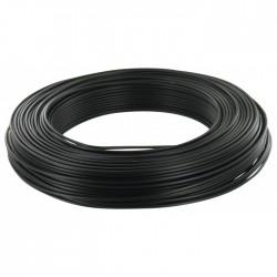 Câble d'installation H07V-U 1.5 mm² - 100 M - Noir - ELECTRALINE - Fils et câbles électriques - BR-373060