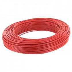 Câble d'installation H07V-U 1.5 mm² - 100 M - Rouge - ELECTRALINE - Fils et câbles électriques - BR-373044