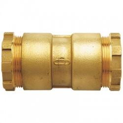 Manchon pour raccordement de 2 tubes par serrage mécanique - ⌀ 32 mm - HUOT - Raccords à serrage extérieur - BR-452637