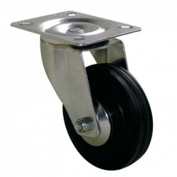 Roulette Port-roll Manutal pivotante - 107 x 80 mm - GUITEL - Accessoires de meuble - BR-454648