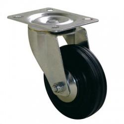 Roulette Port-roll Manutal pivotante - 130 x 100 mm - GUITEL - Accessoires de meuble - BR-454656