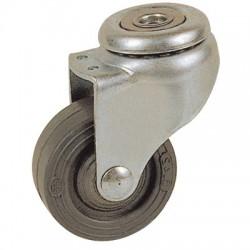 Roulette Drill à oeil pivotante - 46 x 32 mm - GUITEL - Accessoires de meuble - BR-454907