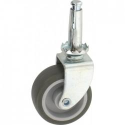 Roulette Drill à douille à bois pivotante - 54 x 42 mm - GUITEL - Accessoires de meuble - BR-454974