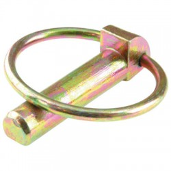 Goupille clip en acier zingué jaune- ⌀ 10 mm - Lot de 5 - SUKI - Goupille - BR-487788