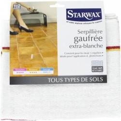 Serpillière gaufrée extra-blanche - STARWAX - Serpillière - BR-212521