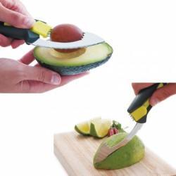 Éplucheur avocat - 5 en 1 - LACOR - Couper / Éplucher fruits et légumes - DE-655092