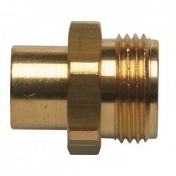 Raccord pour gaz butane/propane - A souder à¸14 mm- EUROGAZ - Vannes et raccords Gaz - BR-047716