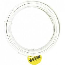 Corde à linge - Fil plastique blanc - Diamètre 2,75 mm - FILIAC - Séchage du linge - BR-053552