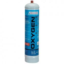 Cartouche jetable Oxygène 110 bar - 110 L - WELD TEAM - Pour la soudure - DE-385781