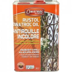 Antirouille multifonction / additif - Owatrol Rustol - 5 L - Antirouille - BR-102881