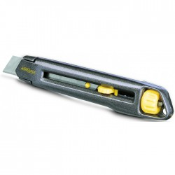 Cutter Interlock - Gris - 18 mm - STANLEY - Cutter / Lame - BR-468685