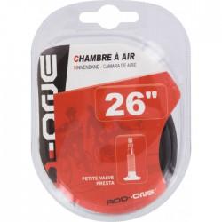 Chambre à air - Petite valve - 26 pouces - FLAURAUD - Gonflage - BR-111860