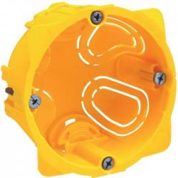 Boîte d'encastrement Batibox 1 poste - 60 mm - Legrand - Boites d'encastrement et dérivation - SI-139359