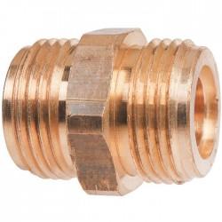 Raccord Gaz Double Mâle - M Bouteille - M 1/2'' - Vannes et raccords Gaz - SI-147802
