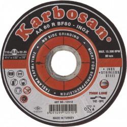 Disque à tronçonner l'acier et l'inox - Karbosan - 115 mm - SCID - Disque - BR-763478