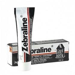 Zebraline Pate noire - Rénove acier et fonte - 100 ml - Entretien des métaux - BR-177261