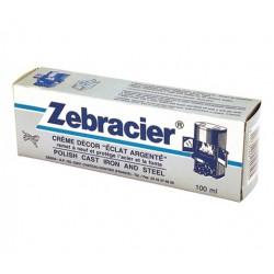 Zebracier pâte - Rénovation fonte / acier - 100 ml - Entretien des métaux - BR-177237