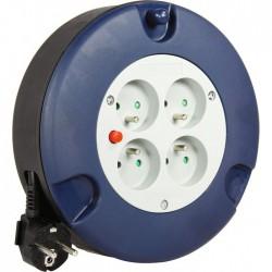Enrouleur domestique - H05 VV-F 3G 1,5 mm² - Longueur 5 m - DHOME - Enrouleurs - BR-243047