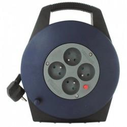 Enrouleur domestique - H05 VV-F 3G 1 mm² - Longueur 10 m - DHOME - Enrouleurs - BR-243407