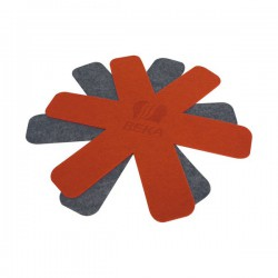 Lot de 2 feutrines de protection - Anti-rayures - Accessoires / Dessous de plat - BR-111585