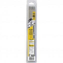 17 électrodes traditionnelles Acier Rutile - 1.6 mm - Pour la soudure - BR-318264