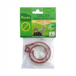 Collier puces insectifuge chats - VERLINA - Chats - DE-327825