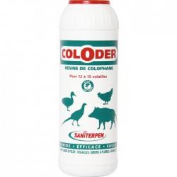 Coloder - Résine de Colophane - 600 Grs - SANITERPEN - Hygiène et entretien animaux - BR-454516