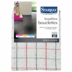 Serpillière bouclettes - Sols lisses - 50 cm - STARWAX - Serpillière - BR-212522