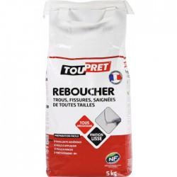 Enduit de rebouchage en poudre - 5 Kgs - TOUTPRET - Enduit de rebouchage - BR-565444