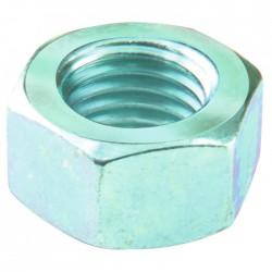 Ecrou hexagonal acier zingué - 4 mm - Lot de 12 - FIX'PRO - Écrou - BR-487652