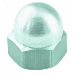 Écrou borgne en acier zingué - ⌀ 4 mm - Lot de 7 - FIX'PRO - Écrou - BR-487670