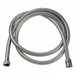 Flexible inox, double agrafage - 2 m - SIDER - Flexible de douche - SI-535714