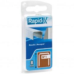 Agrafe n°1 Rapid Agraf - Dimensions 8 mm - 860 agrafes - Agrafes - BR-601468