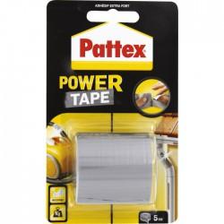 Adhésif super puissant Power tape Power Tape - Gris - Longueur 5 m - Ruban adhésif fixateur - BR-603916