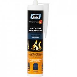 Geb - CALORYGEB mastic refraCaloryGeb - Mastic réfractaire pour cheminée - 310 ml - GEB - Autres Mastics - BR-610313