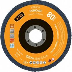 Disque zirconium infinity bombé diamètre 125 mm - Grain 80 - SCID - Disque - BR-243571