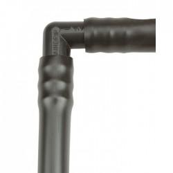 Coude cannelé 90° - CAP VERT - Coudes mâle - femelle - BR-654411