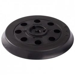 Plateau caoutchouc auto-agrippant PEX 125 Bosch - Diamètre 125 mm - Bande et patin abrasif - BR-681296