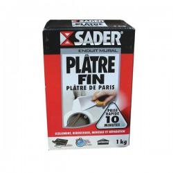 Plâtre fin en sac 1 Kg - SADER - Ciment et Plâtre - DE-138669