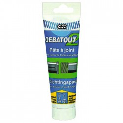 Pate à joint - Etanchéite eau potable raccord métal Geb - Tube 125 ml - Mastic sanitaire - BR-751287
