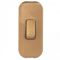 Interrupteur à bascule pour lampe - bipolaire - Vieil or - LEGRAND - Interrupteurs luminaires - BR-826022