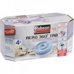 Recharges PowerTab Aero 360 pour absorbeur - Lot de 4 - RUBSON - Humidité / moisissures - BR-808396