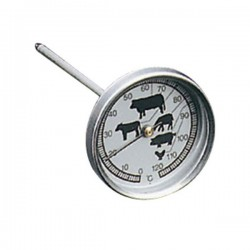 Thermomètre de cuisson spécial viande de METALTEX - Thermomètre de cuisine - DE-809376