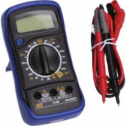 Contrôleur de courant digital automatique - 6 fonctions - Mega-testeur - TIBELEC - Outil d'électricien - BR-560144
