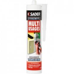 Mastic multi-usages - Translucide - 310 ml - SADER - Autres Mastics - BR-070498