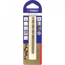 Foret métaux technic SLR ⌀ 6 mm - TIVOLY - Forêt / Mèche - BR-112446