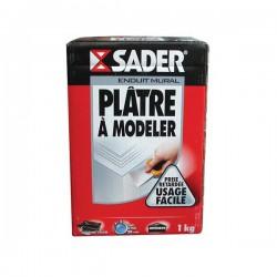 Plâtre àÂ modeler - 1 Kg - SADER - Ciment et Plâtre - DE-138701