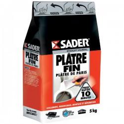 Plâtre fin en sac 5 Kg - SADER - Ciment et Plâtre - DE-138693